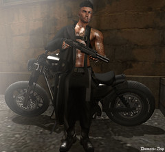 #N4 (dumeric_asp) Tags: catwa bento gabriel motorbike weapons portrait moto ysoral rings