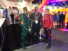 Oliver , Slade and Roy. (Sconderson Cosplay) Tags: comic con san diego sdcc 2016 cosplay deathstroke green arrow arsenal
