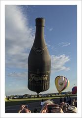 Cheers! (Francis =Photography=) Tags: europe europa france grandest meurtheetmoselle chambley 54 mondialairballons mondialairballoons chambleybussières baseaérienne montgolfières aérostat nacelles enveloppes 2017 ciel nuages clouds wolken freixenet wine vin