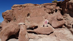 190 Petroglyphen in Sandstein -  sand stone, Yerbas Buenas (roving_spirits) Tags: chile atacama atacamawüste atacamadesert desiertodeatacama désertcôtier küstenwüste desiertocostero coastaldesert