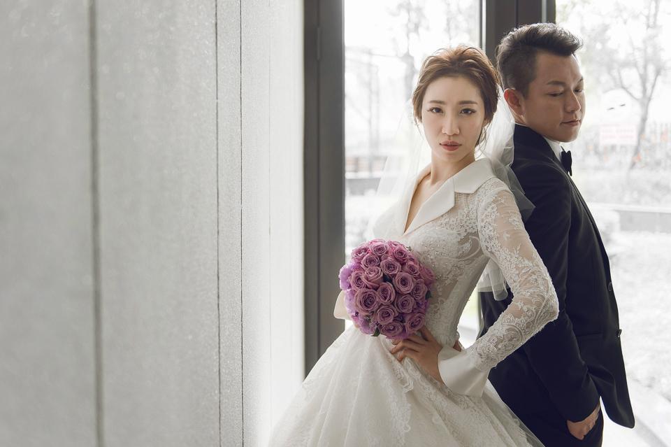婚攝 高雄林皇宮 婚宴 時尚氣質新娘現身 S & R 097