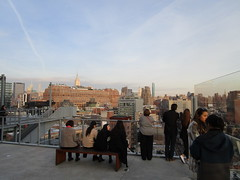 Whitney Museum balcony view of Upper Manhattan Skyline 6381 (Brechtbug) Tags: new whitney museum american art balcony view lower manhattan skyline highline york city nyc 01212018 street former rail road garden path walk way elevated el remodeled derelict urban reclamation boardwalk skyway pedestrian mezzanine streets midtown downtown meat packing district west side transportation design redesign architecture gallery 2018