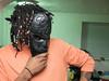 P1150030 (Solomon Marshall) Tags: gx7 lumixgx7 mft 20mm17 lumix street bnw abstract horrorportrait monochrome glasshead sollymonster pghbnw 412 pittsburgh wall people capjazzo color contrastcolor greenandorange green orange monster