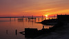 sunrise over the patuxent river (scott1346) Tags: sunrise silhouettes colors orange yellow gold indigo morning majestic maryland water tidal early 1001nights 1001nightsmagiccity thegalaxy riveer