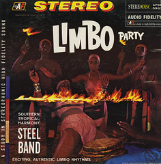 Limbo Party (Jim Ed Blanchard) Tags: lp album record vintage cover sleeve jacket vinyl weird funny strange kooky ugly thrift store novelty kitsch awkward limbo party fire natives trinidad steel drum dance
