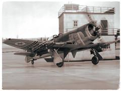 "1:72 Bedek Aviation Company ""סערה"" (Ser'h); aircraft ""57"" of the חֵיל הָאֲוִיר (Kheil HaAvir, Israeli Air Force)'s 104 tajeset ""צרעות"" (""Wasps""); Herzaleah (near Tel Aviv, Israel), during the Suez Crisis, summer 1956 (whif/Matchbox kit conversion) (dizzyfugu) Tags: 172 hawker tempest israel idf air force bedek serh חֵיל הָאֲוִיר kheil haavir tajeset suez crisis sand spinach david star r2800 f4u corsair fighter bomber fictional aviation model kit conversion matchbox dizzyfugu modellbau whif whatif"