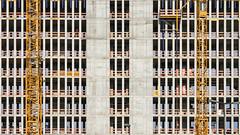 construction of a new boredom (bilderkombinat berlin) Tags: ⨀2011 berlin moabit crane facade construction concrete europa deutschland germany city building orange pattern eu daylight 2d