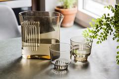 RidgeKitchen-set-smoke-lifestyle-02 (Charles & Marie) Tags: glasses areaware glassware ridgekitchen carafe visibility pitcher