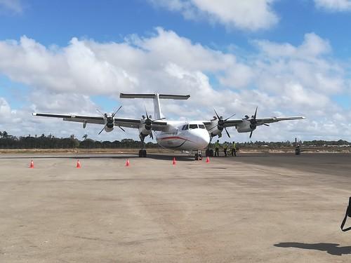 De Havilland Canada Dash 7 at Malindi Airport