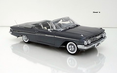1961 Chevrolet Impala Convertible (JCarnutz) Tags: 124scale diecast wcpd 1961 chevrolet impala