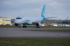 Embraer ERJ-190-100LR (Kingfisher1951 David Ward) Tags: airliners embraererj190100lr cobham bournemouthairport