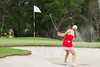Casey Danielson of the USA plays out of a bunker on the 4th hole during the third round (Ladies European Tour) Tags: danielsoncaseyusa coffsharbour newsouthwales australia aus