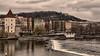 Praha (radomirmor) Tags: praha city sky water river vltava