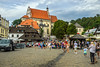 parish church + market square - Kazimierz Dolny, Poland (Russell Scott Images) Tags: kazimierzdolny poland marketsquare parishchurch church sts john baptist bartholomew apostle