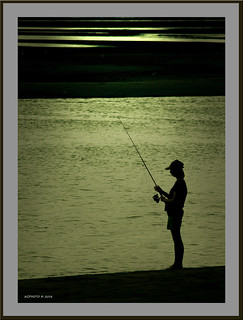 Fishing framed