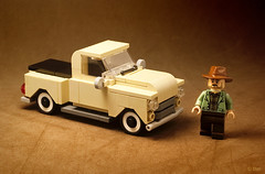 The Old Truck (_Tiler) Tags: lego car vehicle truck