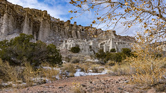 January in Plaza Blanca (LDMcCleary) Tags: newmexico abiquiu plazablanca winter january