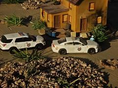 Sheriff's log 1/31/2018 (THE RANGE PRODUCTIONS) Tags: greenlight police 164scale dioramas diecastdioramas diecast hoscalefigures dodgechargerpursuit fordpoliceinterceptorutility modular model toy