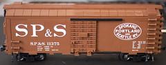 SP&S 4 (Jeffinslaw) Tags: lego moc boxcar sps union pacific train