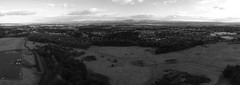 All powerful Dechmount Hill over view of Deans and Livingston (randomonix) Tags: overview bw monochrome randomonix scotland westlothian livingston deans