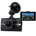 """SMALL-EYE Dash Cam, On Dash Video Car Driving Video Recorder Camera with Full HD 1296P, 170 Degree Wide Angle, 3"""" LCD Screen, G-Sensor, WDR, Loop Recording, Night Vision Review thumbnail"""