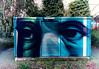 01.03.2018 watching you (FotoTrenz NRW) Tags: watchingyou seeyou looking eyes face blue painting streetart graffiti landfermanngymnasium duisburg city urban urbanart ruhrgebiet ruhrpott nrw