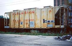 CB&Q Class HC-1D 182490 (Chuck Zeiler) Tags: cbq class hc1d 182490 burlington railroad covered hopper freight car chicago train chuckzeiler chz