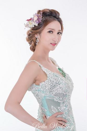 嘉義新秘,新娘秘書.新秘, 唯美典雅風新娘造型,歐美大眼妝,乾燥花