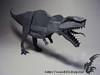 Giganotosaurus (Rydos) Tags: paper origami art hanji koreanpaper korean paperfold fold folding paperfolding designed design model papermodel korea gray origamilst giganotosaurus shuki kato shukikato dinosaur nature study naturestudy book jurassic world