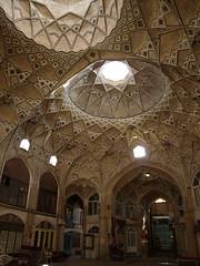 P9224335 (bartlebooth) Tags: iran qom islam persian iranian dome olympus e510 evolt bazaar caravanserai market vaulting vault
