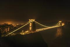 Clifton Suspension Bridge, Bristol (MelvinNicholsonPhotography) Tags: cliftonsuspensionbridge bristol bridge suspensionbridge nightphotography stars
