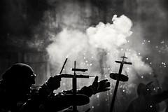 Els Diablons i La Viria del Vendrell (Alex Nebot) Tags: blackanwhite festes diables diablos cultura polvora fuego fire petars petardos correfocs ball baile vendrell comarca tarragona tgn catalonia catalunya nikon nikonista d7200 sigma