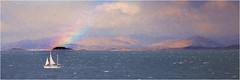 Sound of Mull (Doreen barber) Tags: scotland mull sounds sea atlantic ocean rainbow