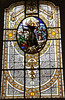 Stained Glass Window, Assumption Cathedral, Kalocsa, Hungary, 2017 (travfotos) Tags: stainedglasswindow baroquearchitecture baroquecathedral baroquechurch assumptioncathedral archbishopscathedral belltower kalocsacathedral catholicchurch catholiccathedral kalocsa hungary