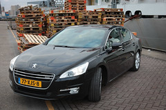 Peugeot 508-8 (gabrielgs) Tags: peugeot 508 peugeot508 car drive photography photoshoot vehicle luxurious 2012 auto scheveningen fotoshoot carshoot black francecar frenchcar france fifthgear