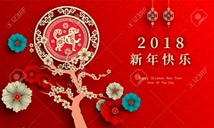 2018 Chinese New Year Paper Cutting Year of Dog Vector Design for your greetings card, flyers, invitation, posters, brochure, banners, calendar (jessie_1023) Tags: vector graphic year zodiac dog element traditional happy new red sign symbol illustration decoration design celebration art background asian china chinese culture abstract animal puppy 2018 orient concept character east prosperity style flower pattern asia festival isolated card oriental lunar wallpaper chinesenewyear gold artwork newyear silhouette lunarnewyear good wishing papercut