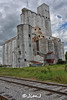 Katy Grain Elevator (Jim Johnston (OKC)) Tags: katy texas grain elevator railroad tracks clouds