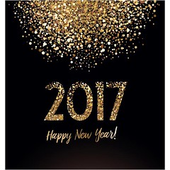 free vector Happy New year 2017 Golden Background (cgvector) Tags: 2017 abstract background banner black business calendar card celebrate celebration christmas concept decoration design effect elements eps10 explosion fireworks gift glossy glow gold golden gradient green greeting happy holiday isolated light magic multicolor neon new number package perspective present render snow snowflakes surprise tech template texture vector winter xmas year