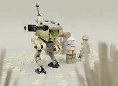 Support bot (Sunder_59) Tags: lego moc render blender3d mecabricks mech mecha robot military scifi vehicle