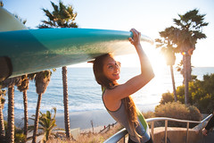 20180224 -Valerie_Duprat_for_HOWZIT_79 (Laurent_Imagery) Tags: encinitas ca usa surfer surfergirl surfeur french frenchfashion frenchstyle longhair young board sand beach stairs palmtrees coast coastal coastline wate sea ocean pacific pacificocean oceanpacific swamis sandiego california westcoast meremadesurfboards valerieduprat howzit wetsuit newcollection lifestyle culture sport action winter lightroom photoshoot surfline nikon d3 shaper handshape girl supergirl woman femme