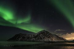 Playa de Skagsanden (Luis R.C.) Tags: skagsanden lofoten noruega playa viajes paisajes nocturnas nikon d610