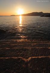 Zoagli sunset (- Crupi Giorgio (official)) Tags: italy liguria zoagli sunset seascape landscape sun sea sky canon canoneos7d sigma sigma1020mm
