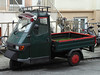 Ape Pritsche (Schwanzus_Longus) Tags: vehicle bremen german germany italy modern trike three 3 wheeler light small truck delivery van piaggio ape pickup pick up flatbed ute italian