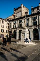 La Bell'Italia, Piazza della Loggia, Brescia, Italy (Davide Tarozzi) Tags: labellitalia piazzadellaloggia brescia italy italia piazza statua square