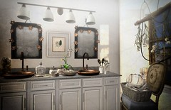 Vanities (AGodenot) Tags: gallandhomes applefall junk lode nutmeg onegrid serenitystyle tia theloft zerkalo