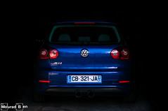 VW Golf R32 Garage (Mourad Ben Photography) Tags: vw golf r32 garage volkswagen vr6 32 stance magnaflow xenon light