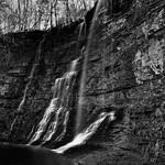 Triple Falls (Black & White, Buffalo National River) thumbnail