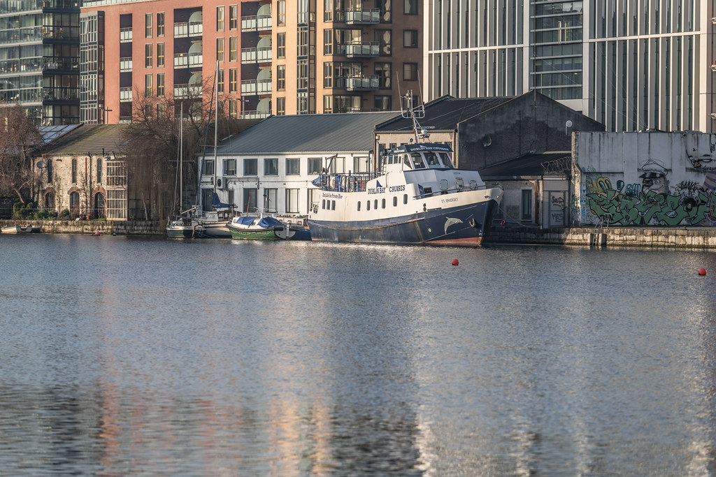 GRAND CANAL DOCK AREA OF DUBLIN [PHOTOGRAPHED 11 JANUARY 2018]-135433