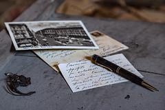 Dear friend...   #Explore (iLaura_) Tags: abandoned old time timepassages friends luoghiabbandonati letter postcard lettera cartolina tempo passato