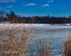 Where I Live (SoonerChick14) Tags: winter oklahoma nature water sky potd cy365 outdoors river snow